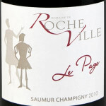 Domaine de Rocheville - Le Page 2010 - etikett