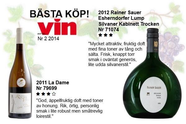"""BÄSTA KÖP"""" Allt om Vin 2-2014"""