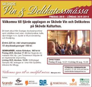 Skövde Vin och delikatessmässa 2014082930