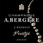 Andre Bergére Prestige 2008 - etikett