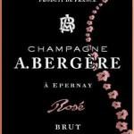 Champagne A Bergere - Brut Rose - etikett