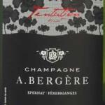 Champagne A Bergere - Brut Cuvee Tentation - etikett