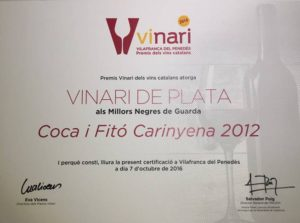 Coca i Fitó Carinyena - Vinari De Plata