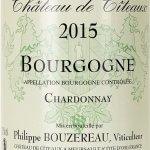 Chateau De Citeaux - Bourgogne - Chardonnay 2015 - etikett