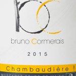 Domaine Bruno Cormerais - Chambaudière 2015 - etikett