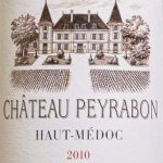 Château Peyrabon 2010 - etikett