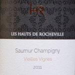 Domaine de Rocheville - HR Saumur Champigny Vieilles Vignes 2011 - etikett