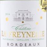 Château La Freynelle - Château Freynelle Blanc 2016 - Etikett