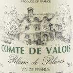 Lamblin & Fils - Comte de Valois Blanc de Blancs - Etikett